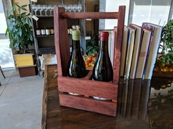 2-bottle Wood Box Image